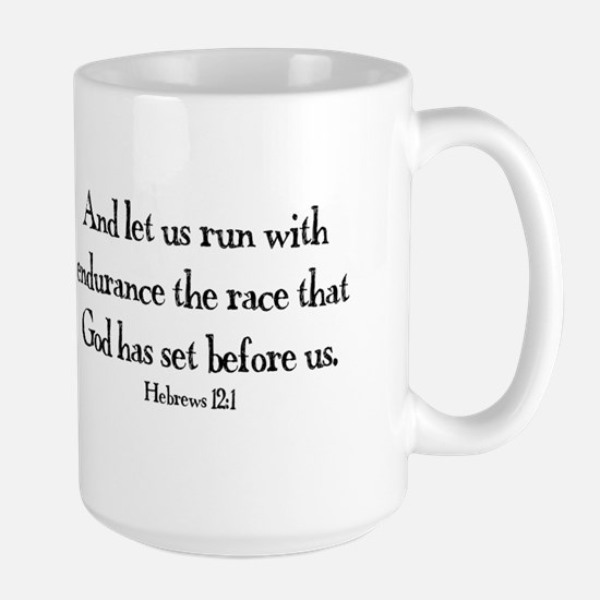 Hebrews Run Large Mug