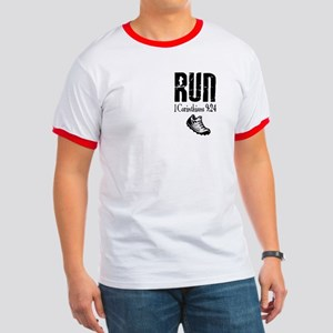 Run the Race verse Ringer T