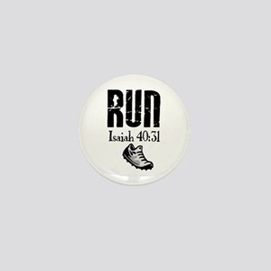 Isaiah 40:31 Run Mini Button