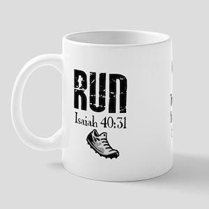 Isaiah 40:31 Run Mug