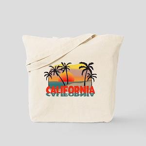 California Sunset Souvenir Tote Bag