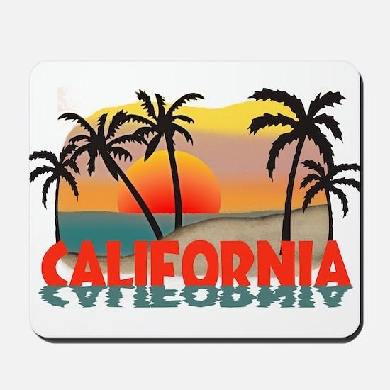 California Sunset Souvenir Mousepad