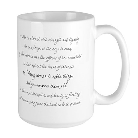 Proverbs 31 mom Large Mug