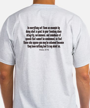 Integrity Bible verse T-Shirt