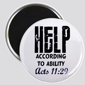 acts 11:29 Magnet