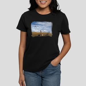 Blue Wind Women's Dark T-Shirt