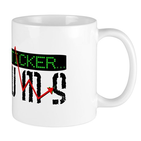 TickerForumLogo(Vector) Mugs
