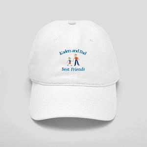 Kaden and Dad - Best Friends Cap