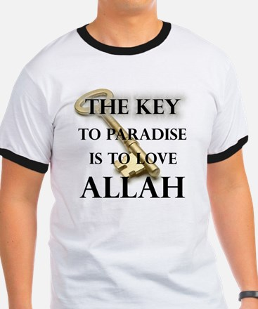key to paradise love Allah T