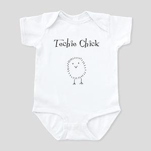 techie chick Infant Bodysuit