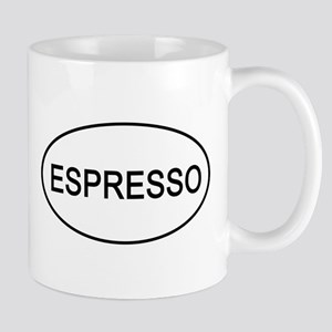 Espresso Euro Oval Coffee Mug