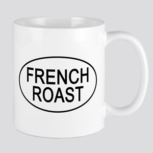 French Roast Euro Oval Coffee Mug