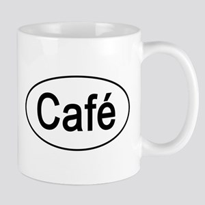 Cafe Euro Oval Coffee Mug