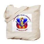 Masonic Support our Troops Tote Bag