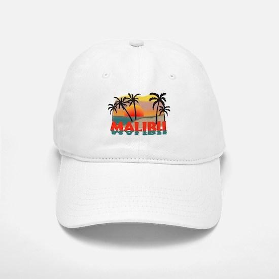 Malibu Beach California Souvenir Baseball Baseball Cap