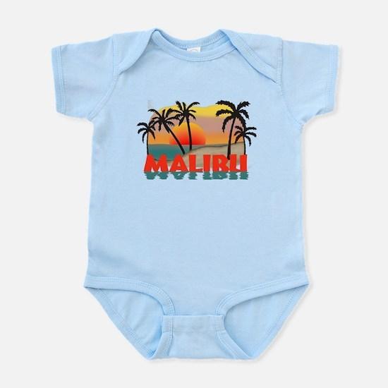 Malibu Beach California Souvenir Infant Bodysuit