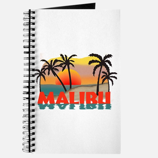 Malibu Beach California Souvenir Journal