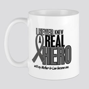 Never Knew A Hero 2 Grey (Mother-In-Law) Mug
