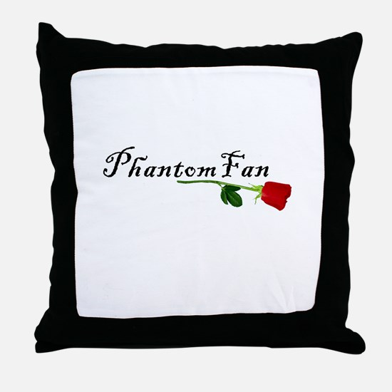 Phantom Fan Throw Pillow