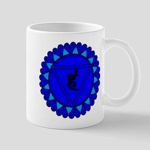 Throat Chakra Mandala Mug