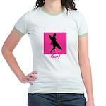 iSurf Female - Jr. Ringer T-Shirt