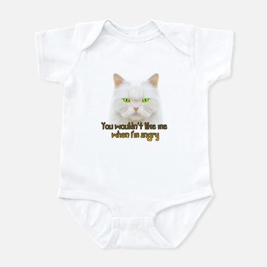 Hulk Kitty Infant Bodysuit