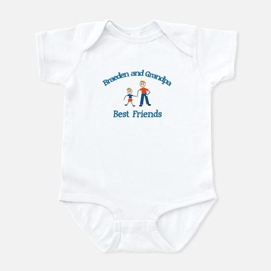 Braeden & Grandpa - Best Frie Infant Bodysuit