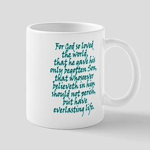 John 3:16 English Mug