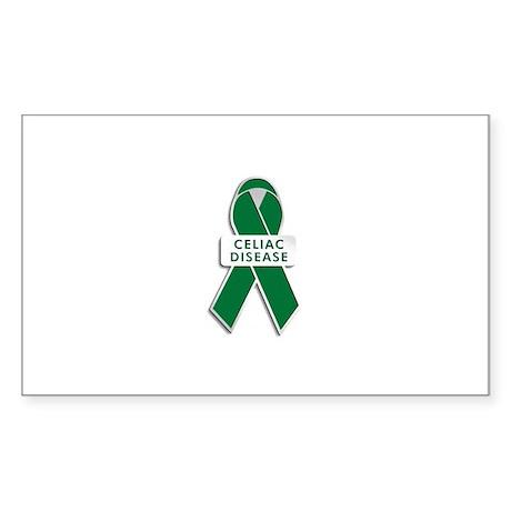 Celiac Disease Awareness Rectangle Sticker