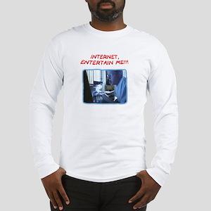 Angry German Kid Long Sleeve T-Shirt
