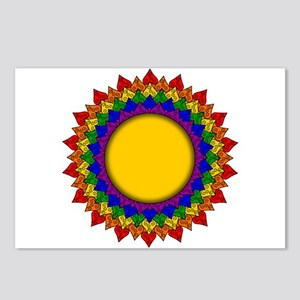 Crown Chakra Mandala Postcards (Package of 8)