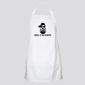 moses is my homeboy BBQ Apron