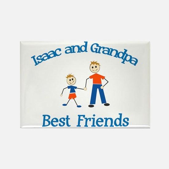 Isaac & Grandpa - Best Friend Rectangle Magnet