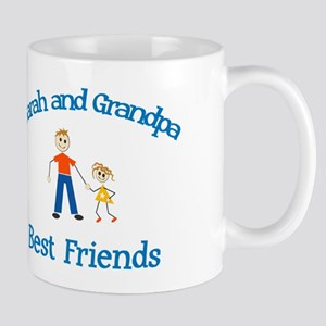 Sarah & Grandpa - Best Friend Mug