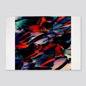 Flapjack Abstract 5'x7'Area Rug