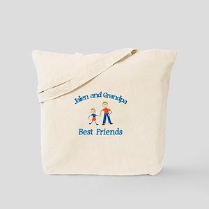 Jalen & Grandpa - Best Friend Tote Bag