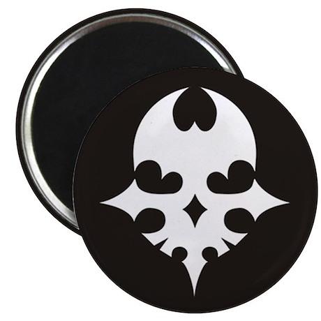 TWEWY Skull (Black) Magnet