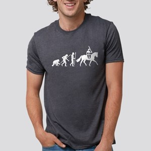 Evolution of man knight on a horse T-Shirt