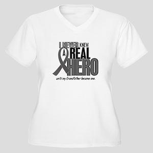 Never Knew A Hero 2 Grey (Grandfather) Women's Plu