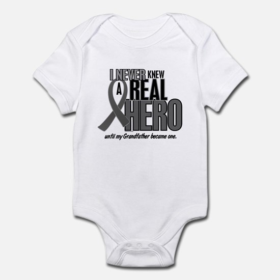 Never Knew A Hero 2 Grey (Grandfather) Infant Body