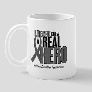 Never Knew A Hero 2 Grey (Daughter) Mug