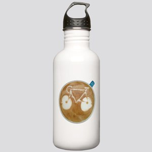 Cycling Latte Art Stainless Water Bottle 1.0L