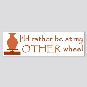 Other Wheel Sticker for Potters (Bumper)