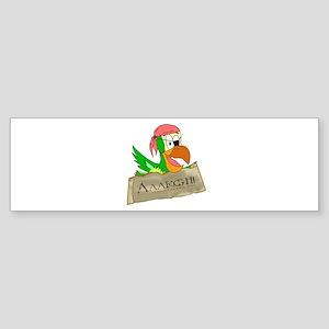 Parrots of the Caribbean Bumper Sticker