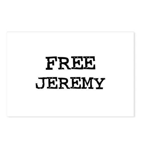 Free Jeremy Postcards (Package of 8)