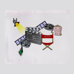 FOR THE FILM LOVER Throw Blanket