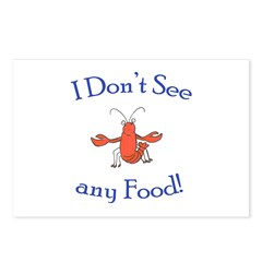 I don't see any food! (PETA) Postcards (Package of