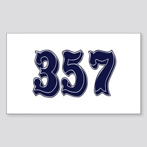 357 Rectangle Sticker