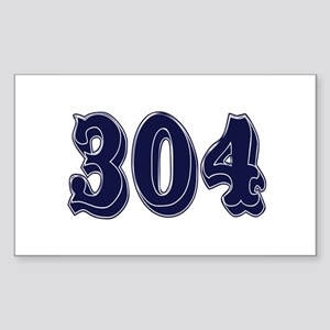 304 Rectangle Sticker