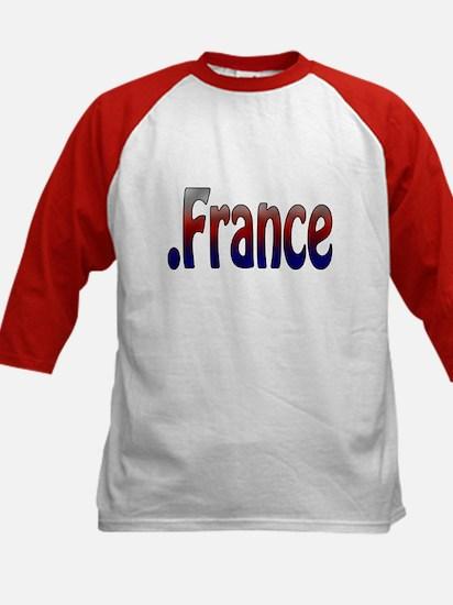 .France Kids Baseball Jersey